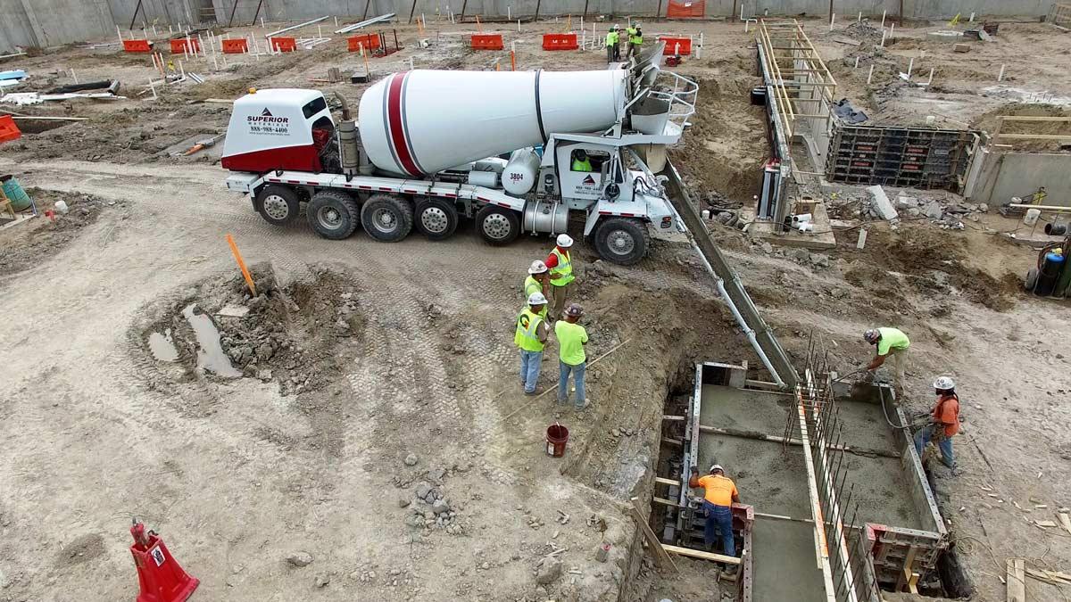 Concrete, On-site Pour, Ann Arbor, MI