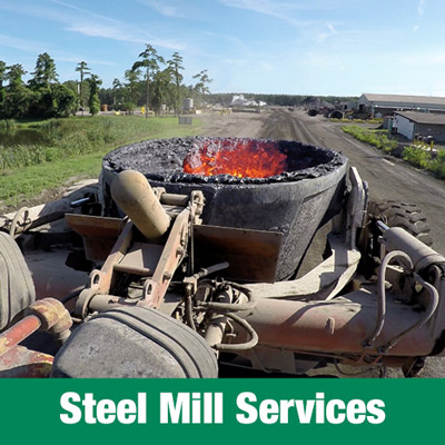 Levy, Steel Mill Services