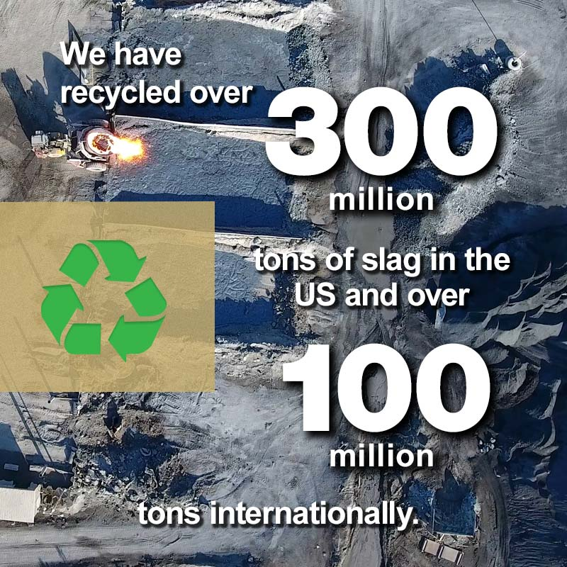 Levy, Recycling Over 300 Million Tons of Slag in the US
