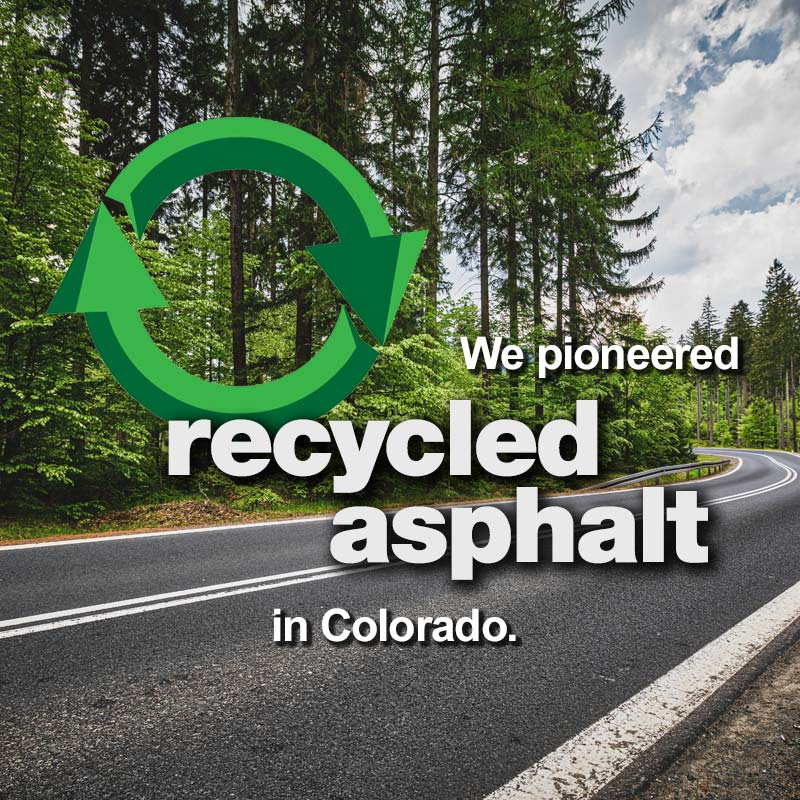 Levy, Pioneering Recycled Asphalt in Colorado